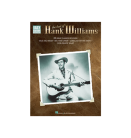 Hal Leonard The Best of Hank Williams Easy Guitar