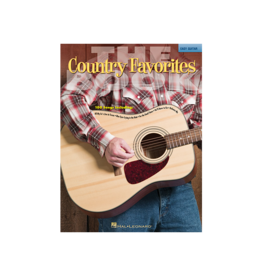 Hal Leonard The Country Favorites Book Easy Guitar