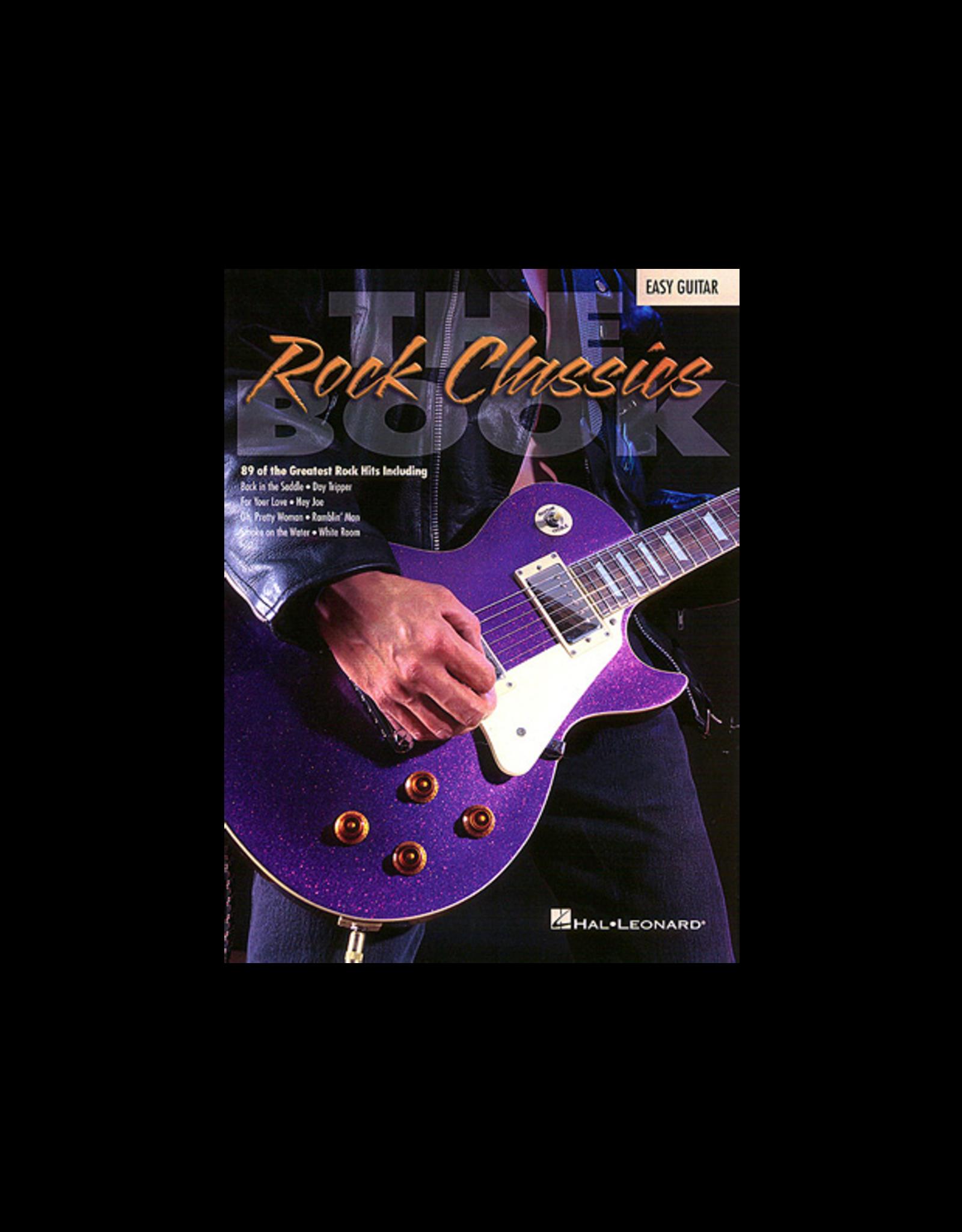 Hal Leonard The Rock Classics Book