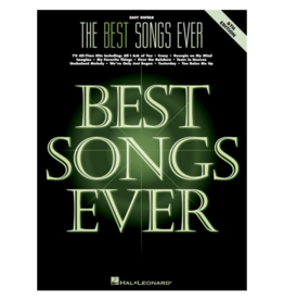 Hal Leonard The Best Songs Ever – 6th Edition Easy Guitar