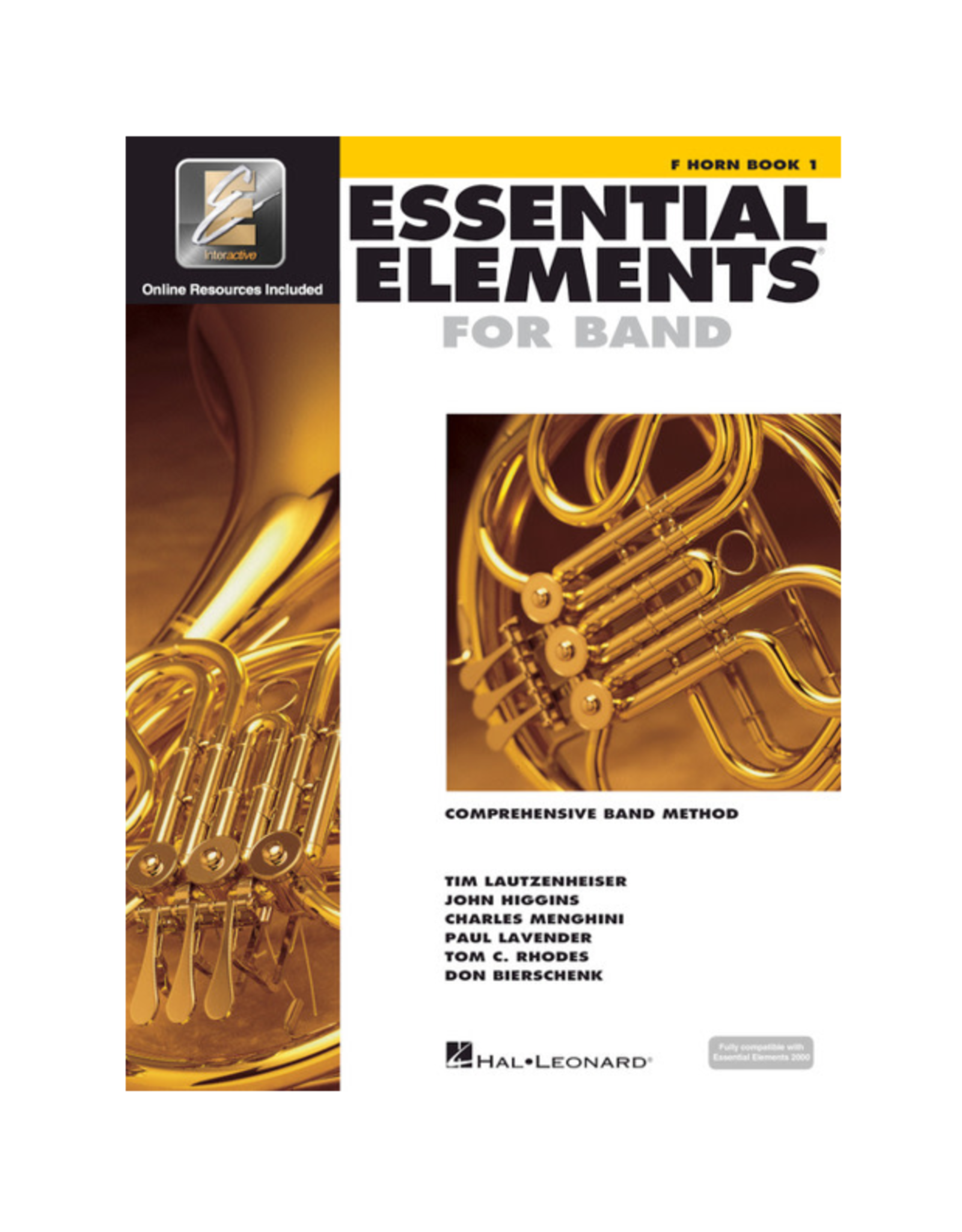 Essential Elements Essential Elements for Band - F Horn Book 1 with EEi