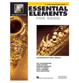 Essential Elements Essential Elements for Band – Eb Alto Saxophone Book 1 with EEi