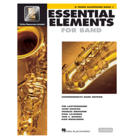 Essential Elements Essential Elements for Band – Bb Tenor Saxophone Book 1 with EEi
