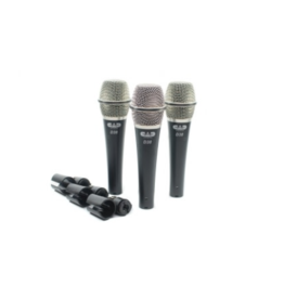 CAD CAD Audio D38X3 Supercardioid Dynamic Instrument Microphone. (3 Pack)