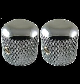 Fender Fender® Telecaster Dome Knobs Set of 2 Chrome