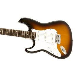 Fender Fender Squier Affinity Strat LEFTY Brown Sunburst