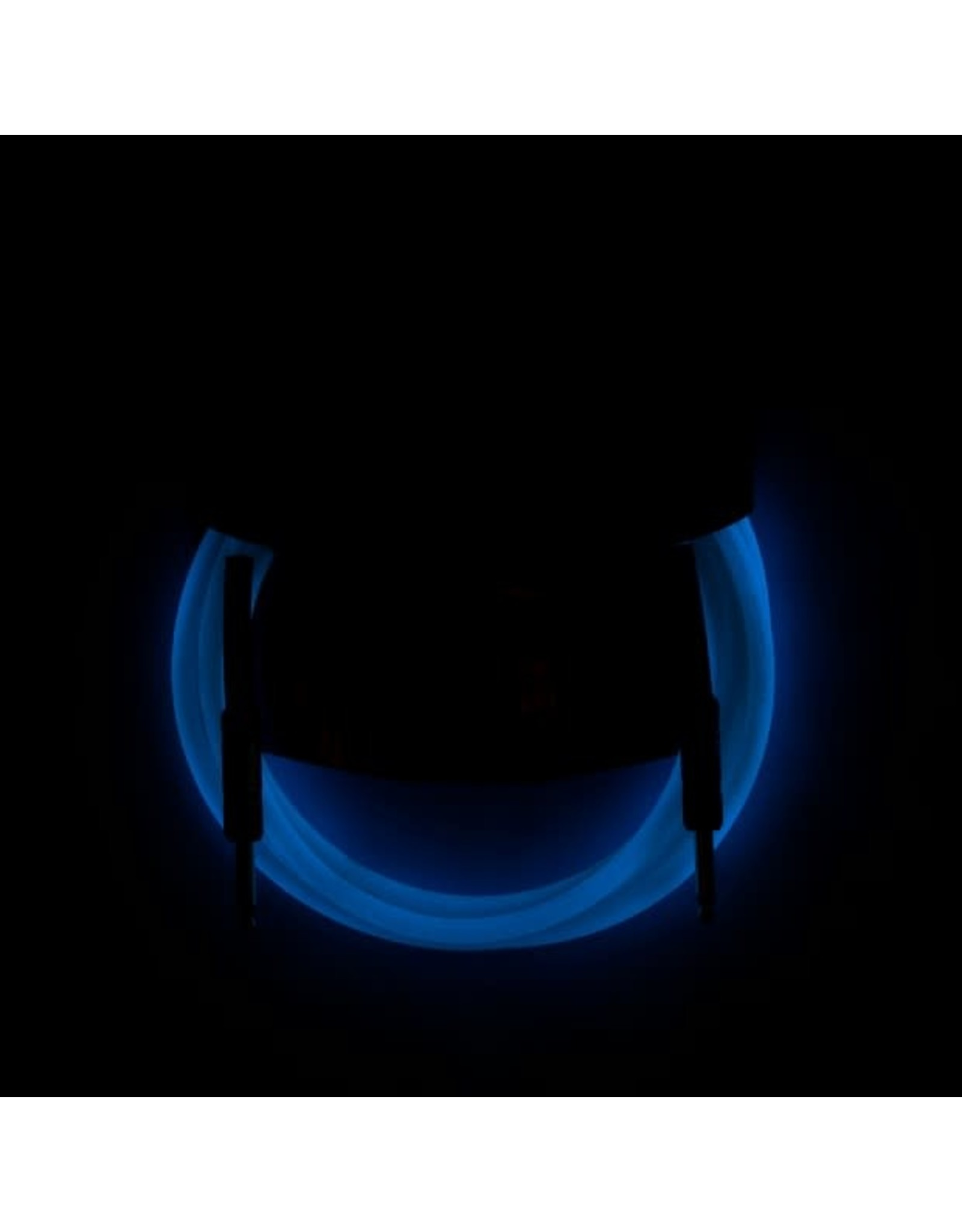 Fender Fender Pro Glow In The Dark Instrument Cable Blue 10 '