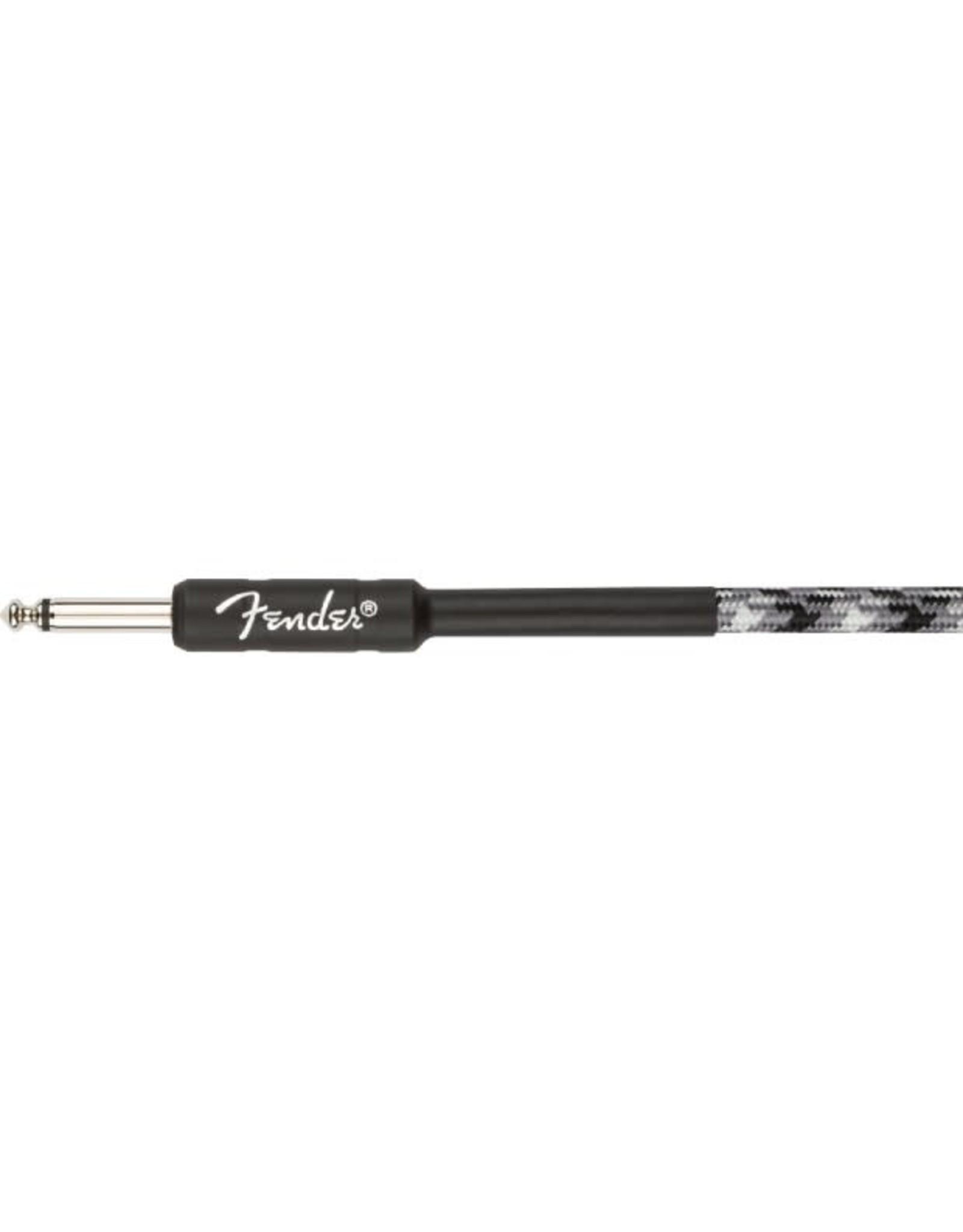 Fender Fender Pro Series Tweed Instrument Cable Winter Camo 10'