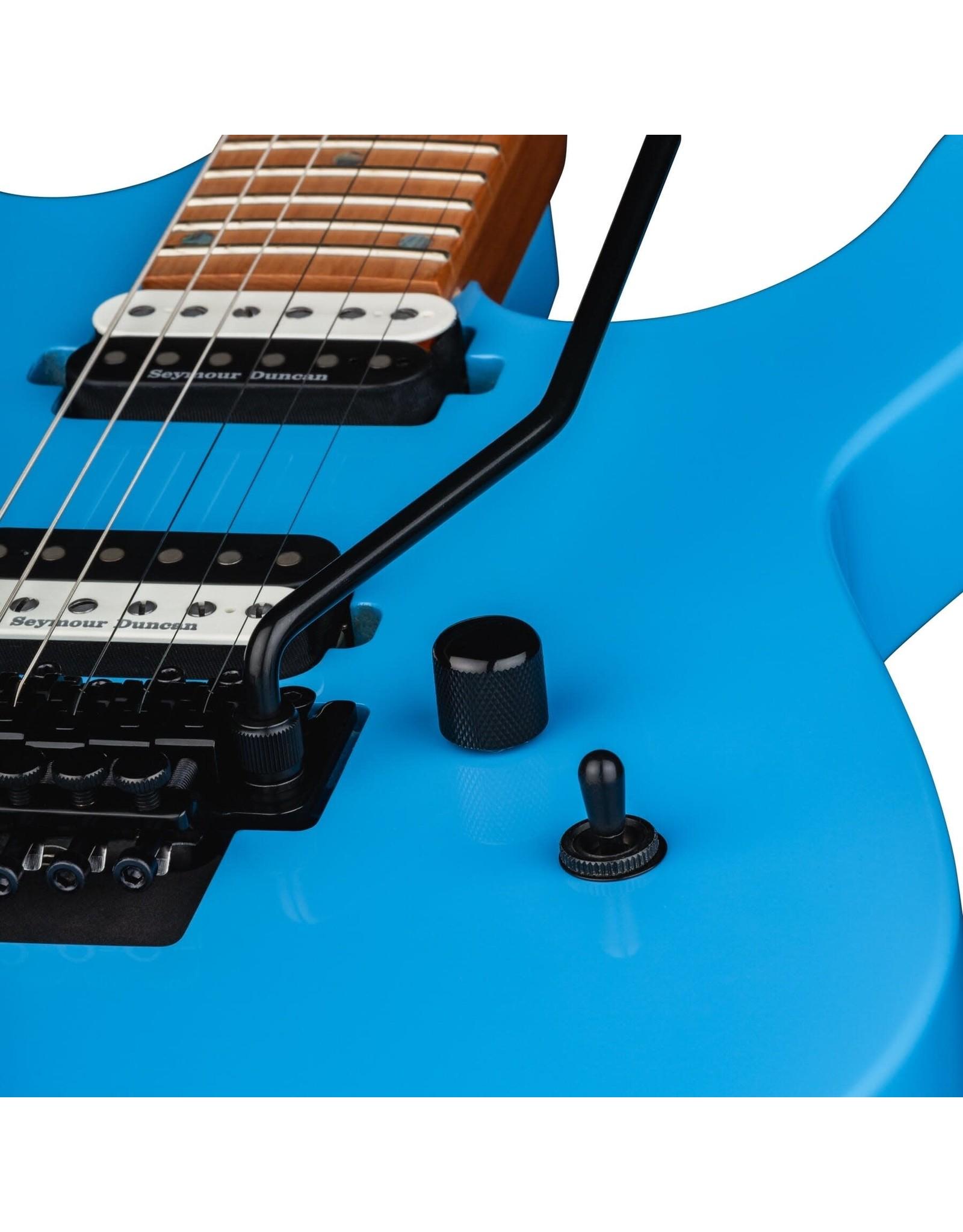Dean Guitars Dean MD24 Floyd Roasted Maple Vintage Blue