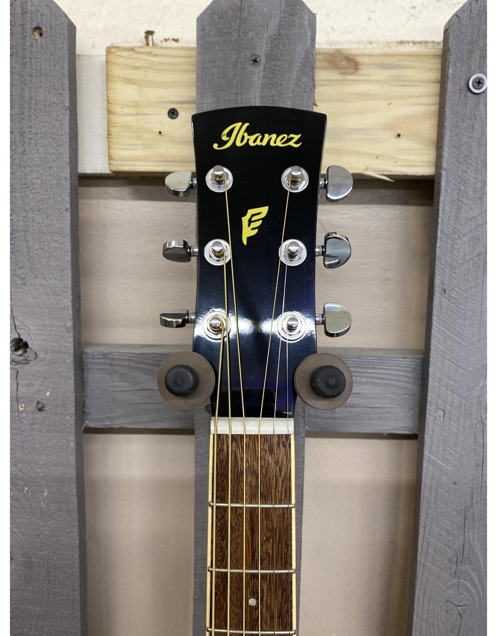 Ibanez Ibanez PF15ECE-BK Dreadnought Acoustic Guitar