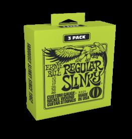 Ernie Ball Ernie Ball 3221 Regular Slinky 3 Pk - 10-46 Gauge