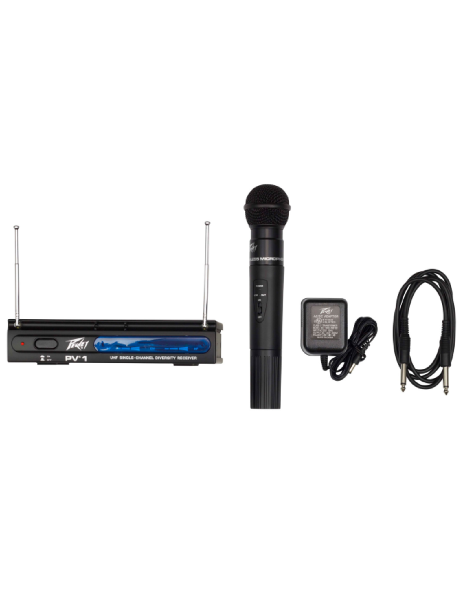 Peavey Accessories Peavey PV-1 Single Channel Handheld Wireless System
