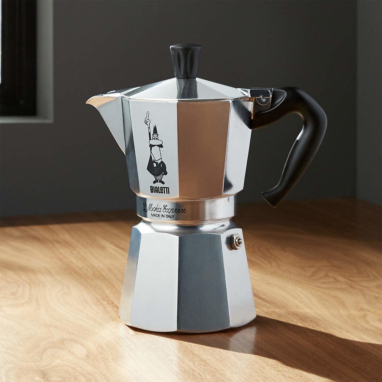 Bialetti Bialetti ® Moka Aluminum 6-Cup Espresso Maker