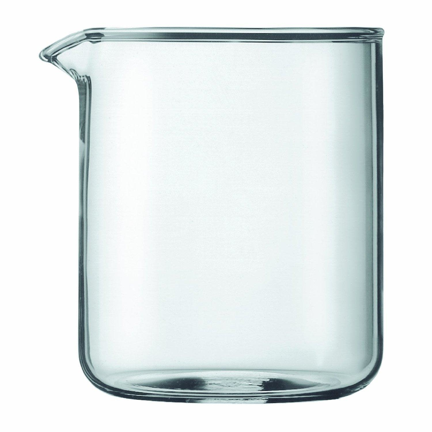 Bodum Spare Replacement Beaker French Press Carafe 4cup Short