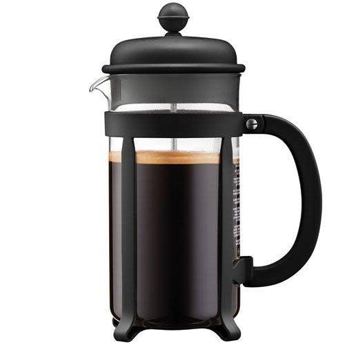 Bodum Coffee Maker French Press Java 8cup 34oz Black Tall