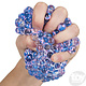"""Toy Network Squeeze Bead Mesh Ball 2.75"""""""