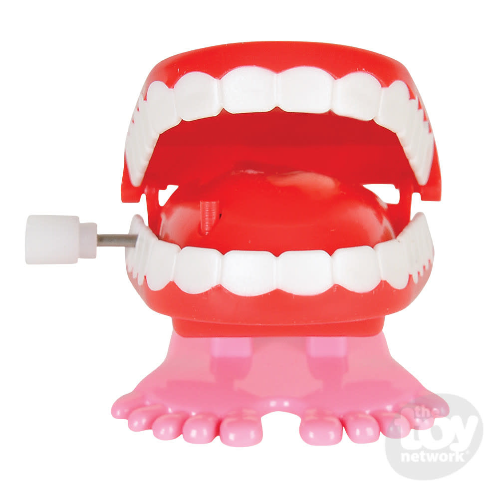 Toy Network Wind Up Chatter Teeth 1.75in