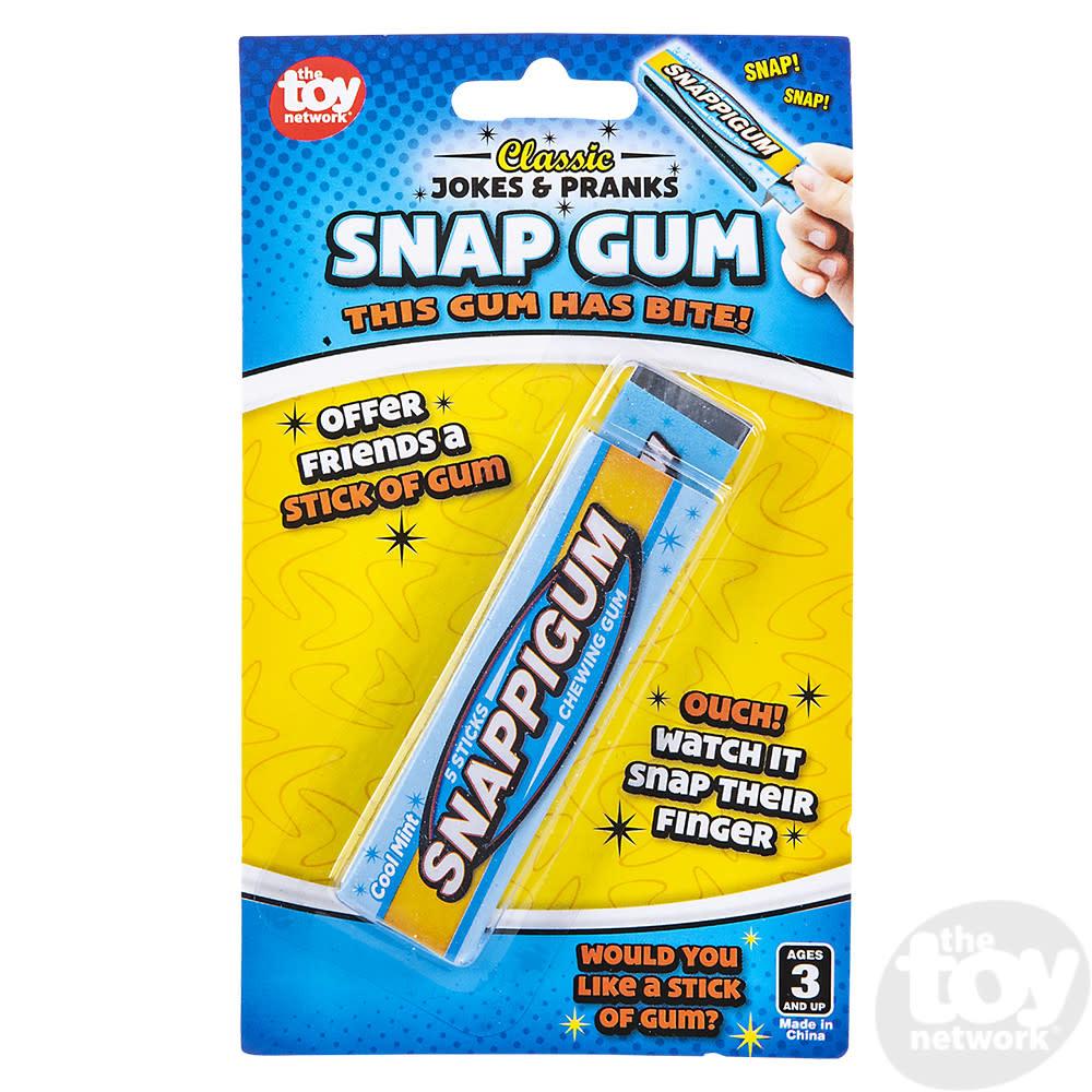 Toy Network Jokes Snap Gum