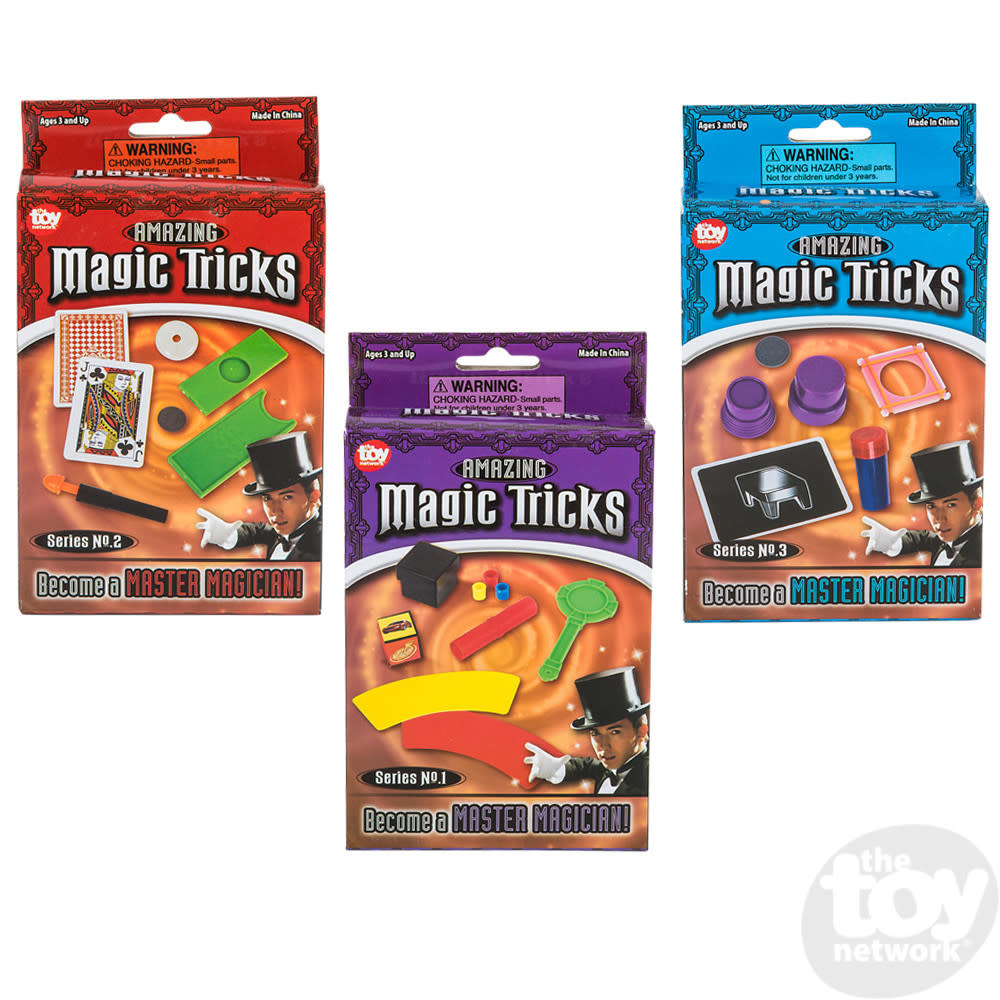 Toy Network Magic Trick Set Series 1, 2 or 3