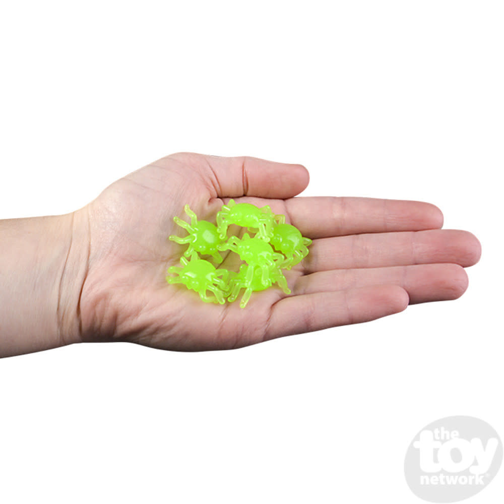 Toy Network Spider Wall Crawlers Glow in the Dark