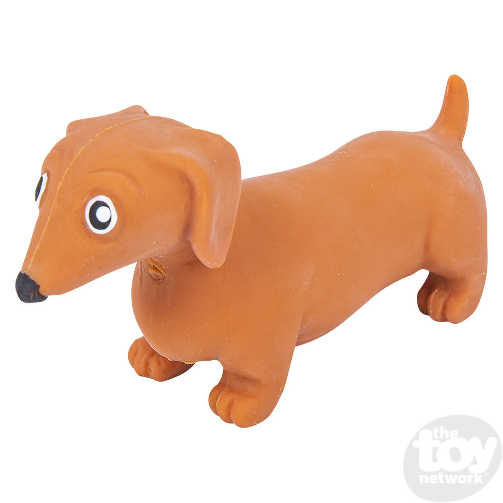 Toy Network Stretch Dachshund Dog 4.5in