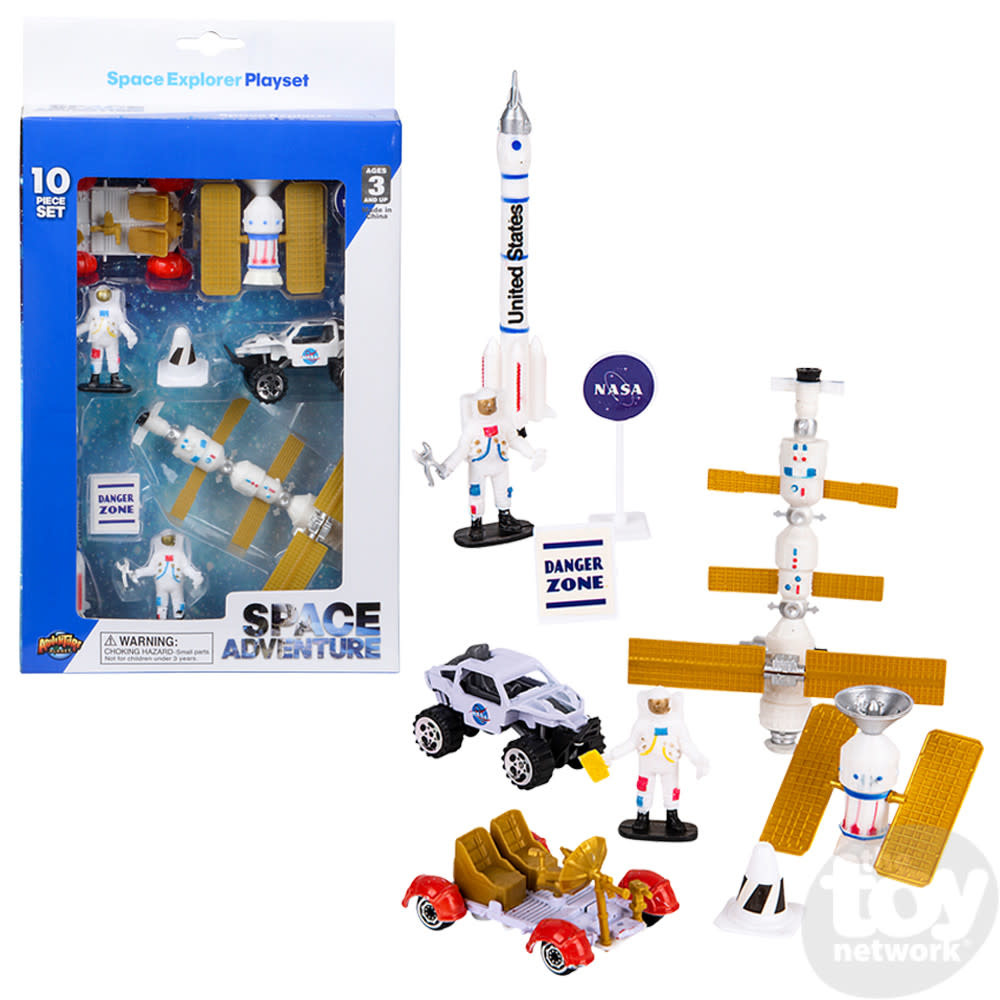 Toy Network Space Play Set Explorer 10 piece