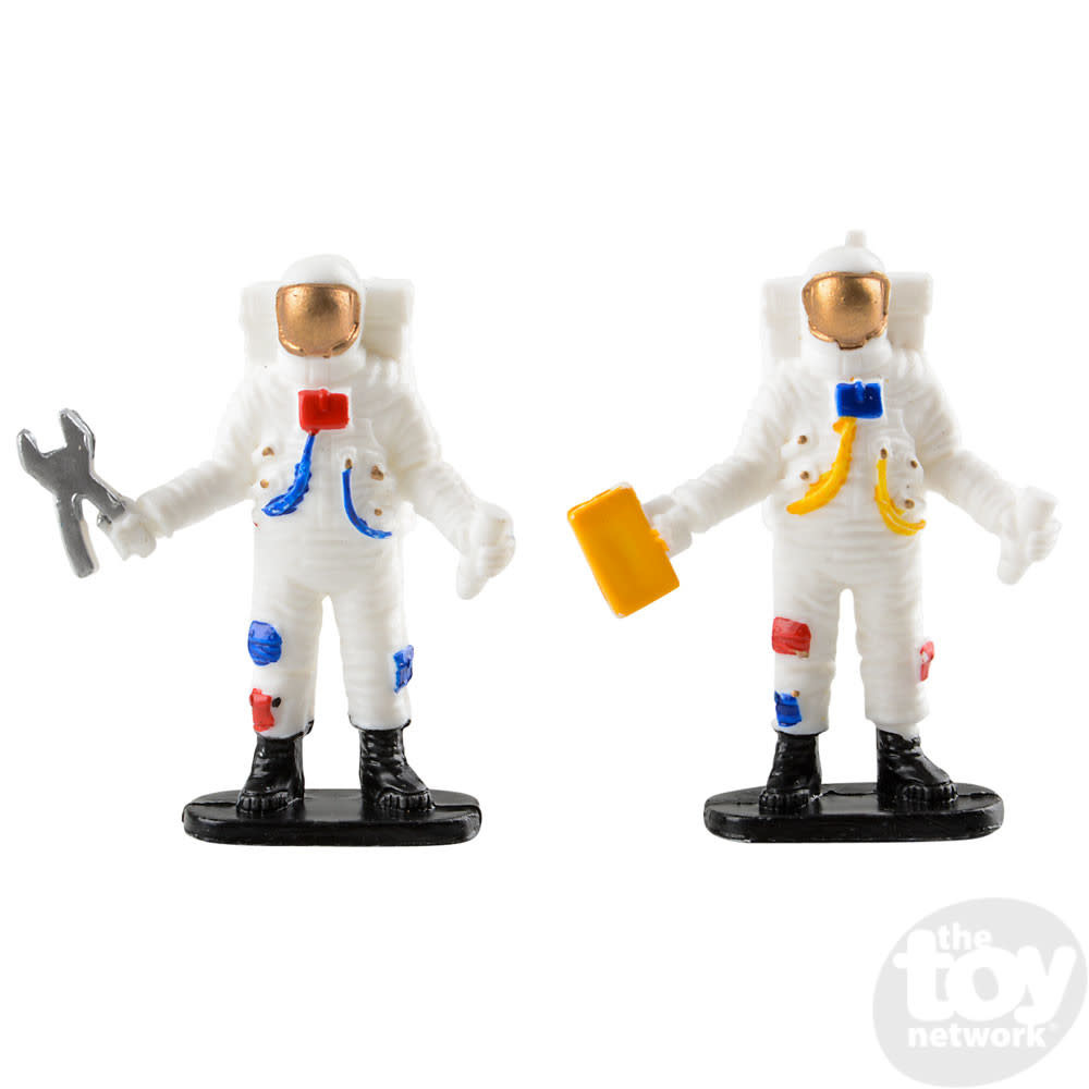 """Toy Network Space Play Set Shuttle 5.5"""" With Astronauts 3 Pieces"""