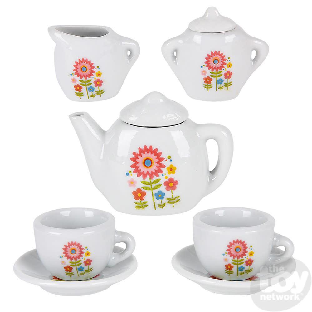 Toy Network Tea Set Mini Porcelain