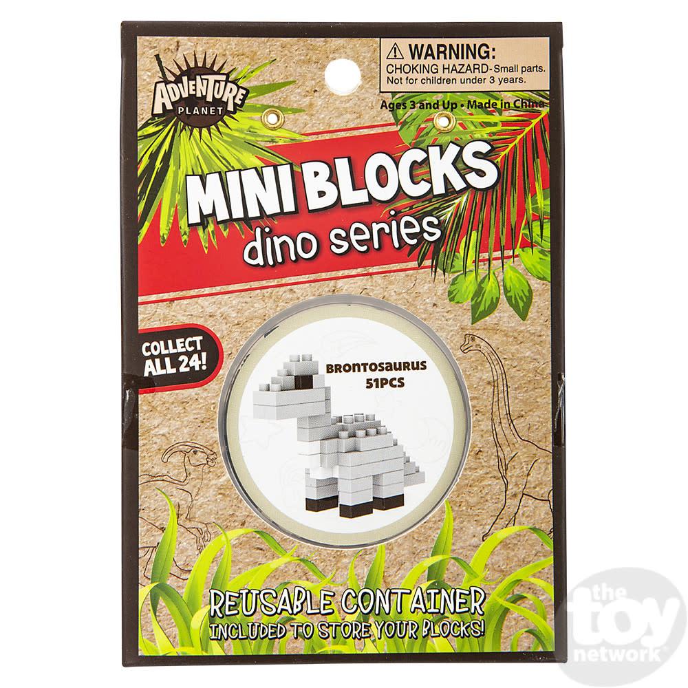 Toy Network Building Kit Dino Mini Blocks - Brontosaurus