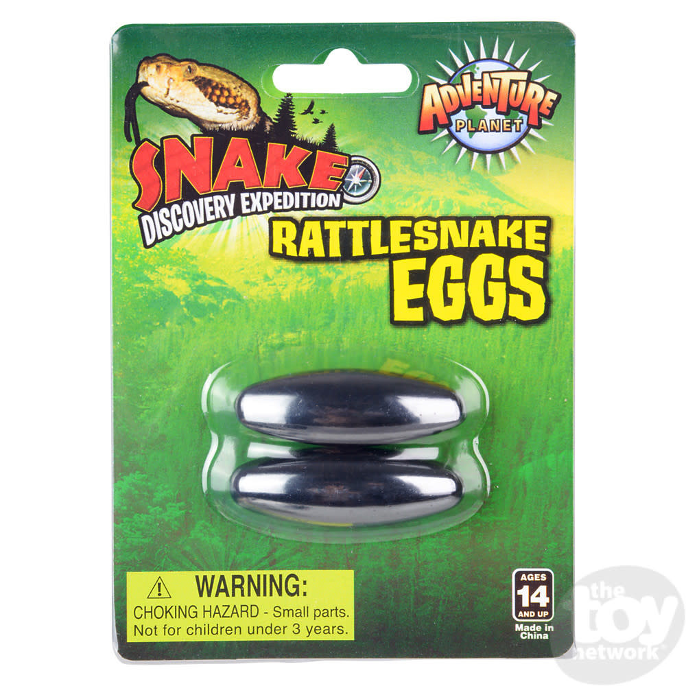 Toy Network Magnets Rattle Snake Eggs 1.75in