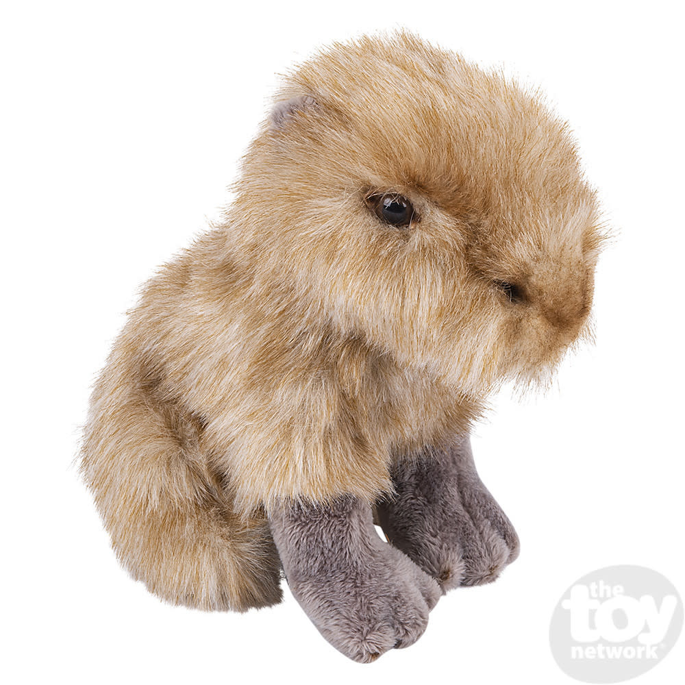 "Toy Network Heirloom Capybara Butter Soft Stuffed Animal 7"""