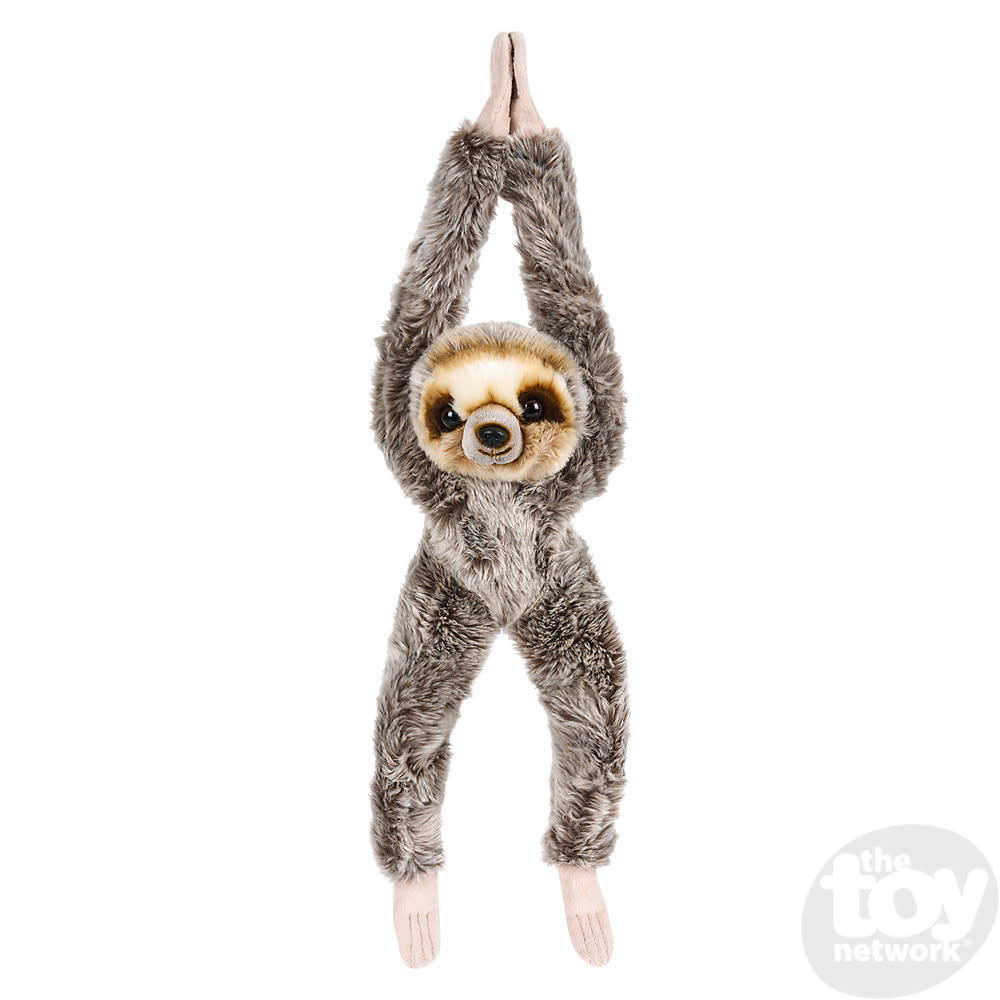 """Toy Network Heirloom Sloth Butter Soft Hanging Stuffed Animal 18"""""""