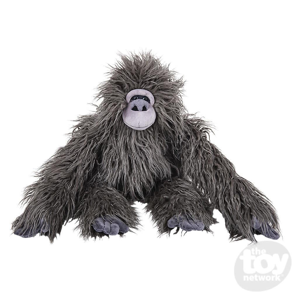"Toy Network Heirloom Gorilla Shaggy Stuffed Animal 22"""