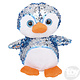 "Toy Network Sequinimals Stuffed Animals Penguin 10"""