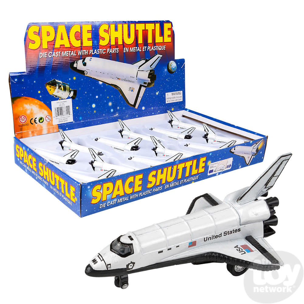"""Toy Network Diecast Pull Back Space Shuttle 5"""""""