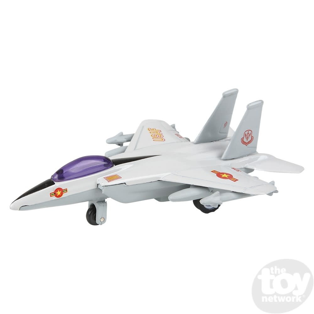 """Toy Network Diecast Pull Back Plane Fighter Jet F-14 Tomcat 4"""""""
