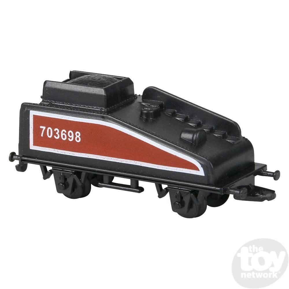 Toy Network Diecast Pull Back Train Mini Locomotive Train Set