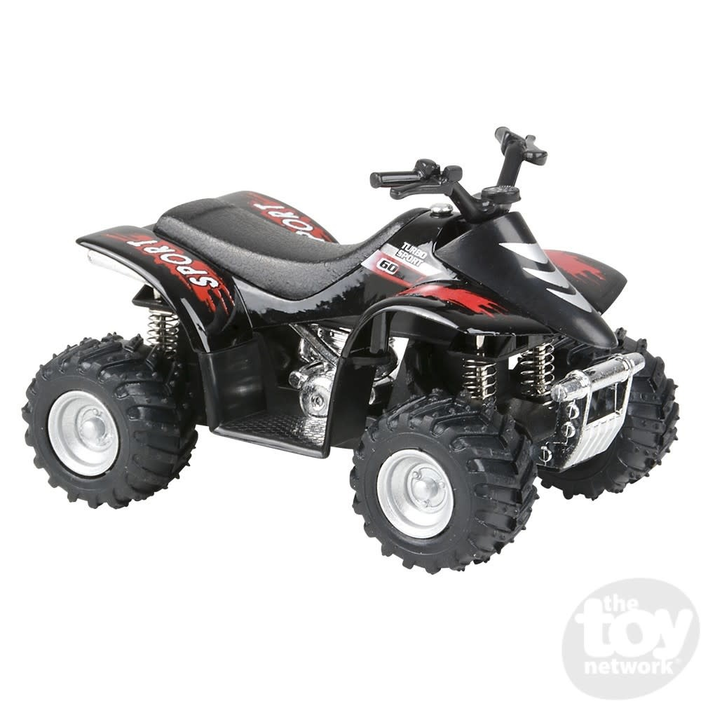 "Toy Network Diecast Pull Back Smart ATV 3.75"""