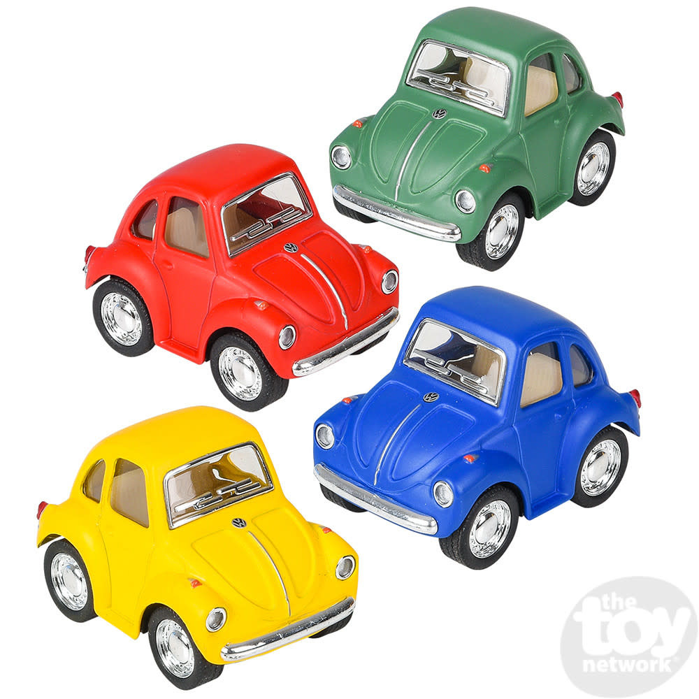"""Toy Network Diecast Pull Back Car Volkswagon Beetle Mini 2"""""""
