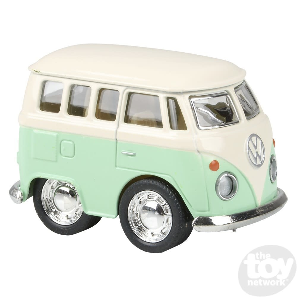 """Toy Network Diecast Pull Back Volkswagon Bus Mini 2"""""""