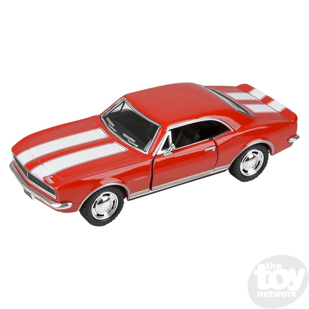 """Toy Network Diecast Pull Back Car Chevy Camaro Z28 1967 5"""""""