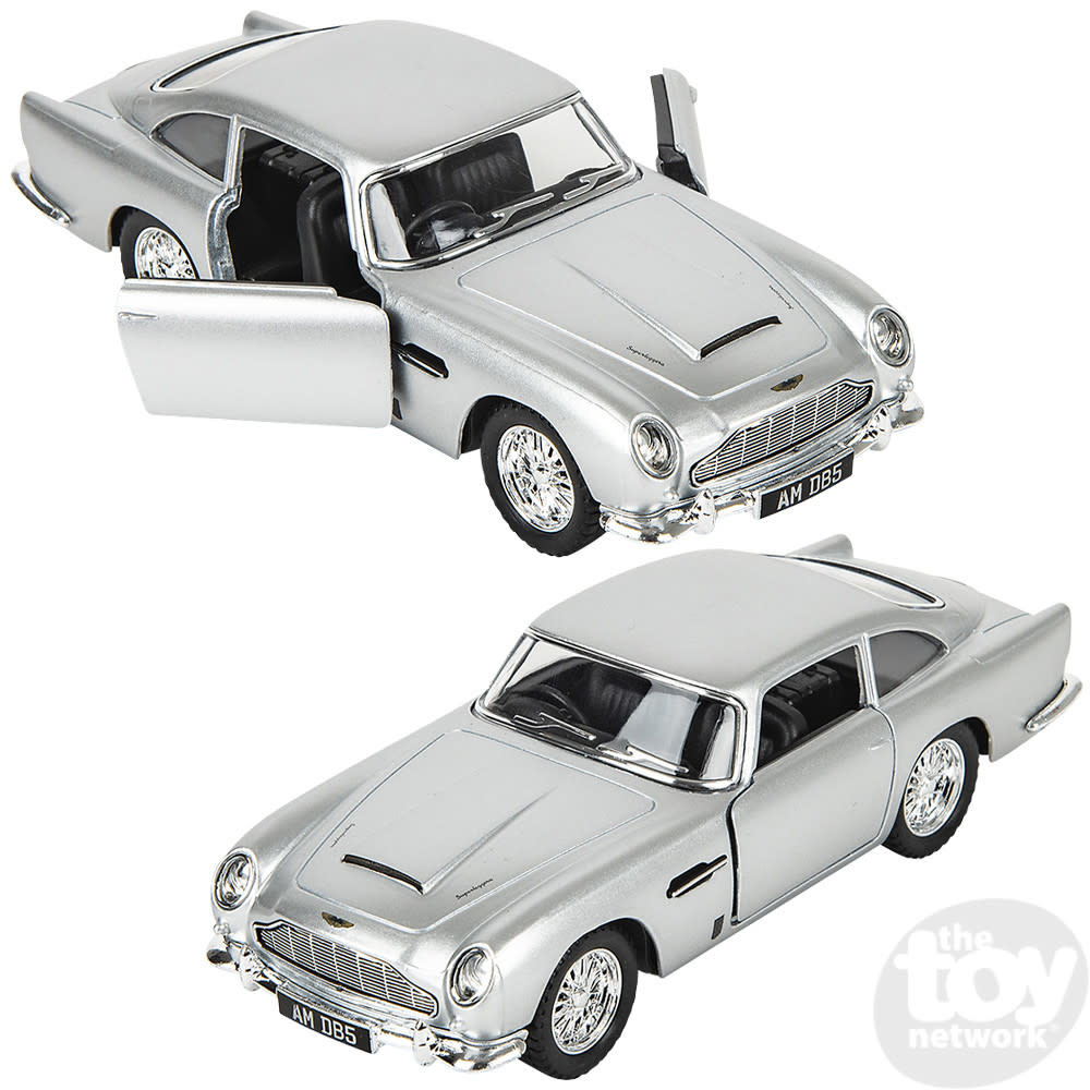 """Toy Network Diecast Pull Back Car Aston Martin 5"""""""