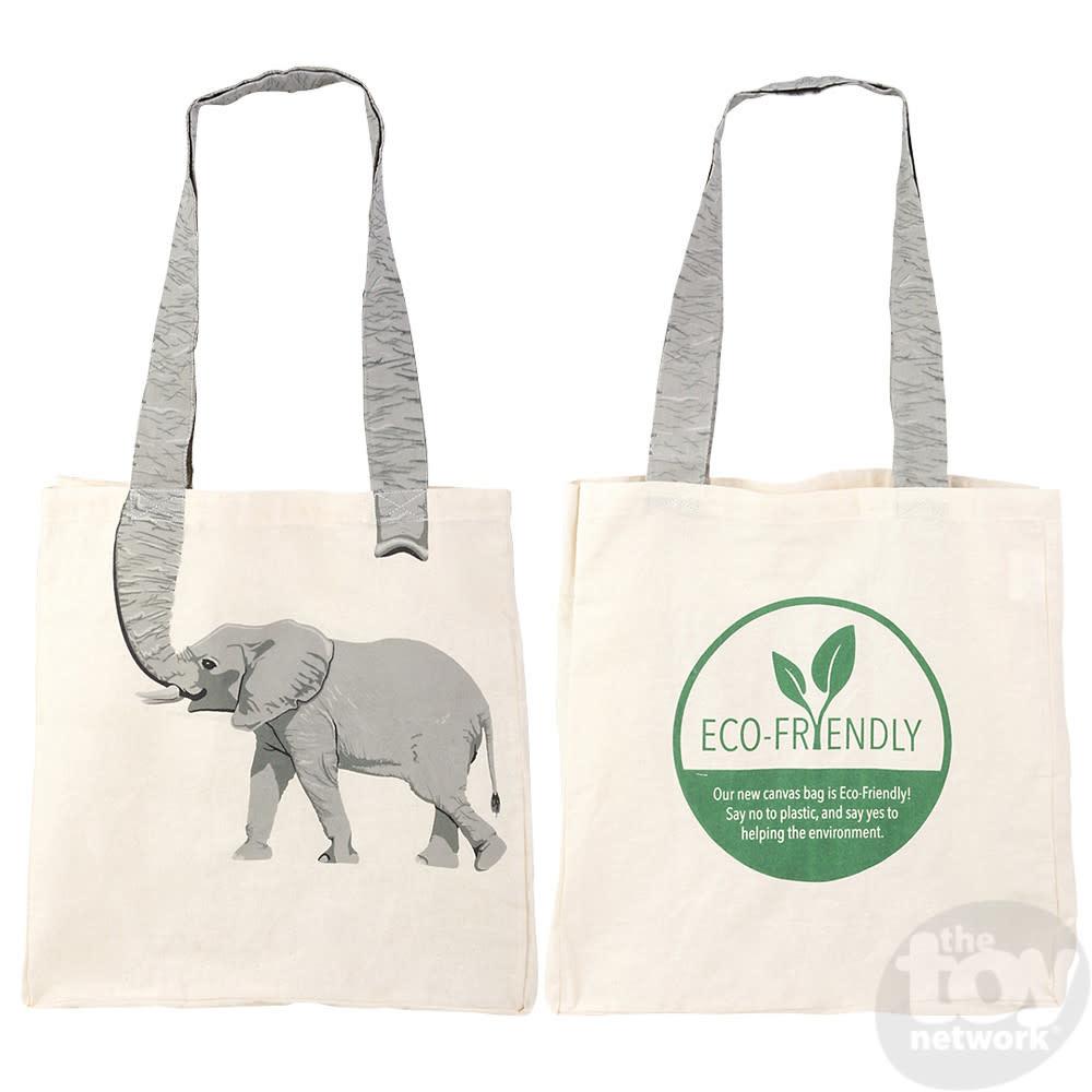Toy Network Bag Eco-Friendly Canvas - Elephant