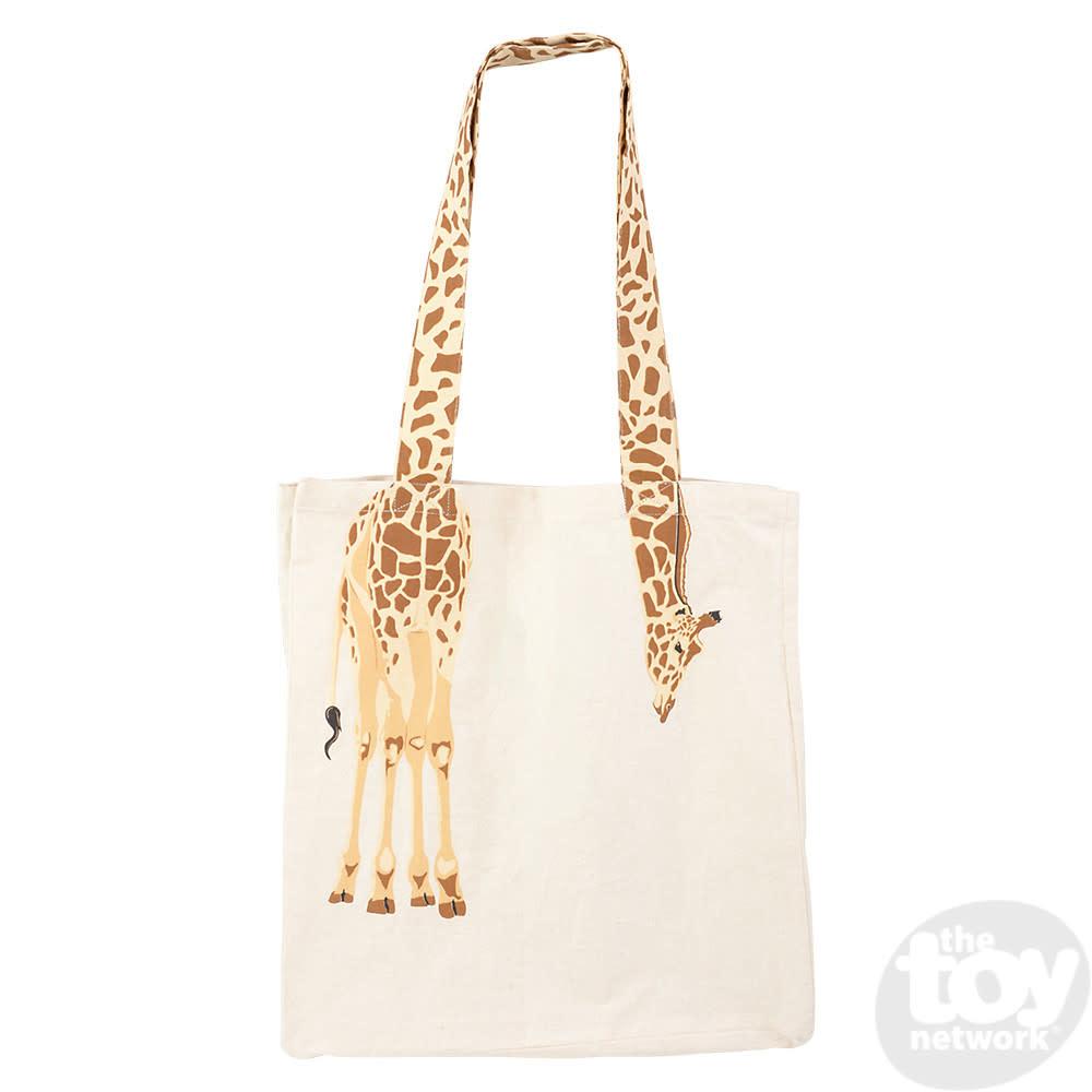 Toy Network Bag Eco-Friendly Canvas - Giraffe