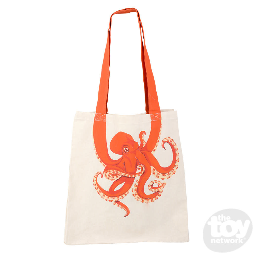 Toy Network Bag Eco-Friendly Canvas - Octopus
