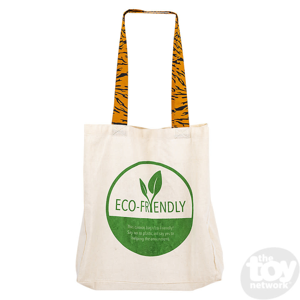 Toy Network Bag Eco-Friendly Canvas - Tiger