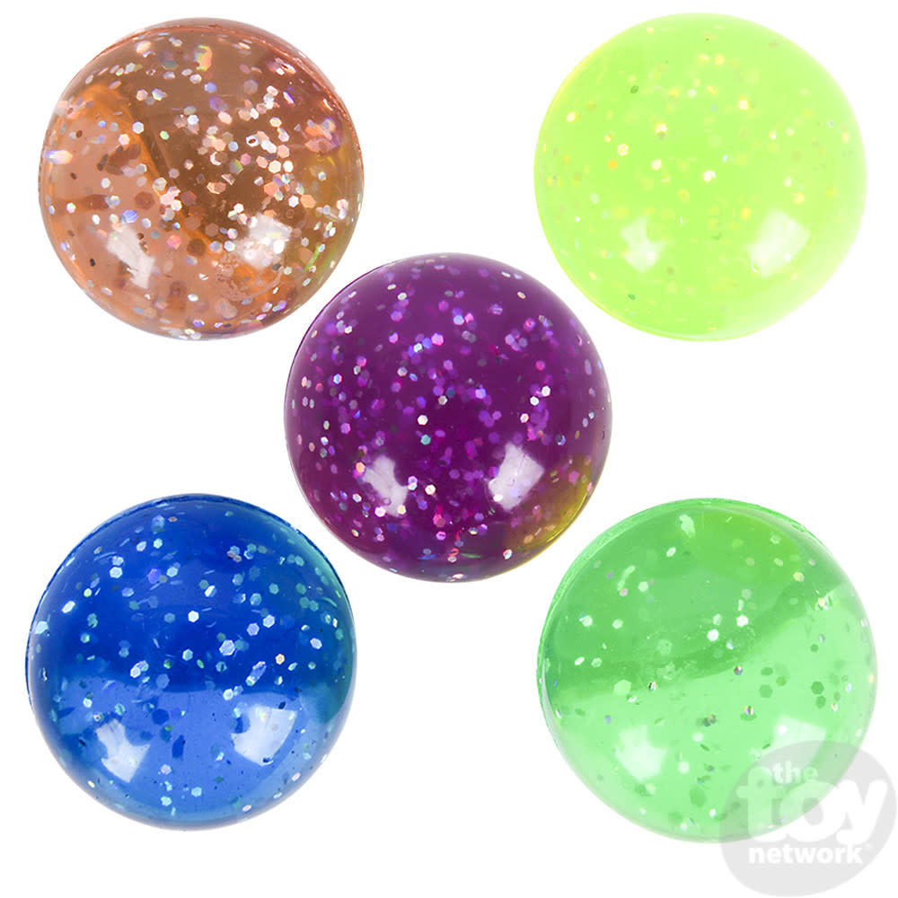"""Toy Network Ball Hi Bounce Colorful Eye 1.75"""" (45mm)"""