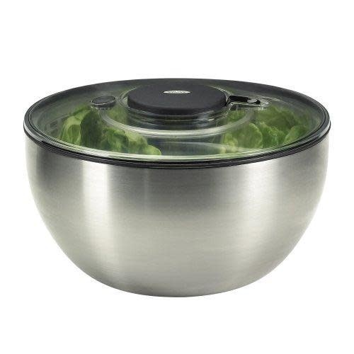 Oxo Good Grips Salad Spinner Stainless Steel Large