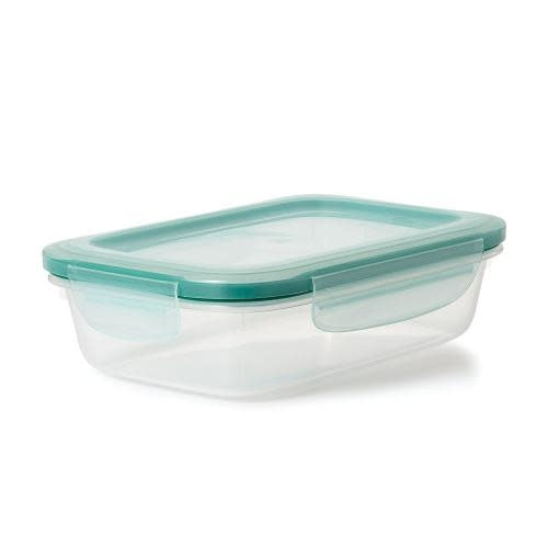 Oxo Good Grips Food Storage Container Plastic Smart Seal Rectangle 5.1cup