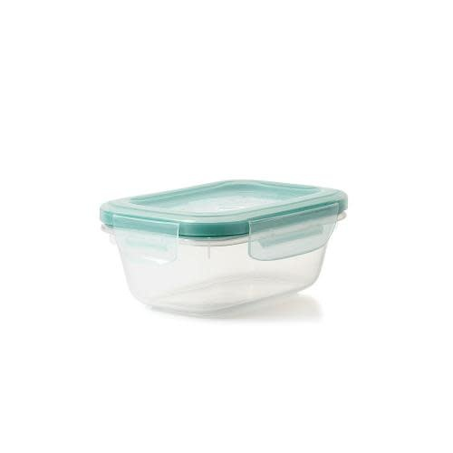 Oxo Good Grips Food Storage Container Plastic Smart Seal Rectangle 1.6cup